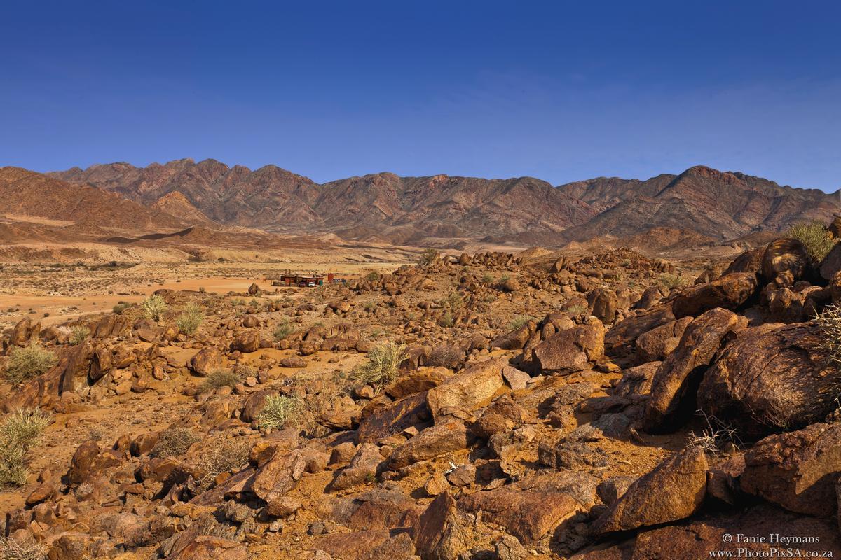 Desert mountains in Richtersveld South Africa
