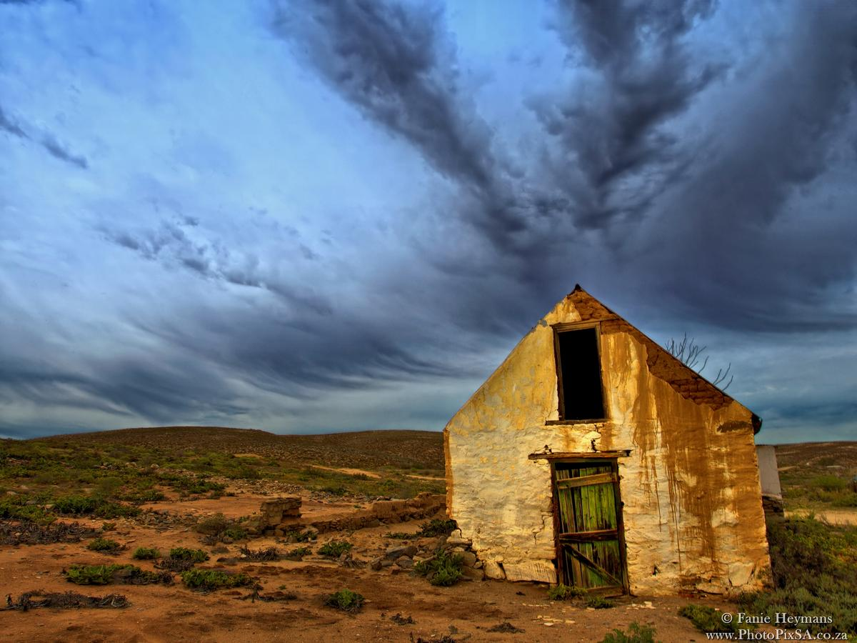 Desolated Barn in the Caracal Eco Route Northern Cape South Afri