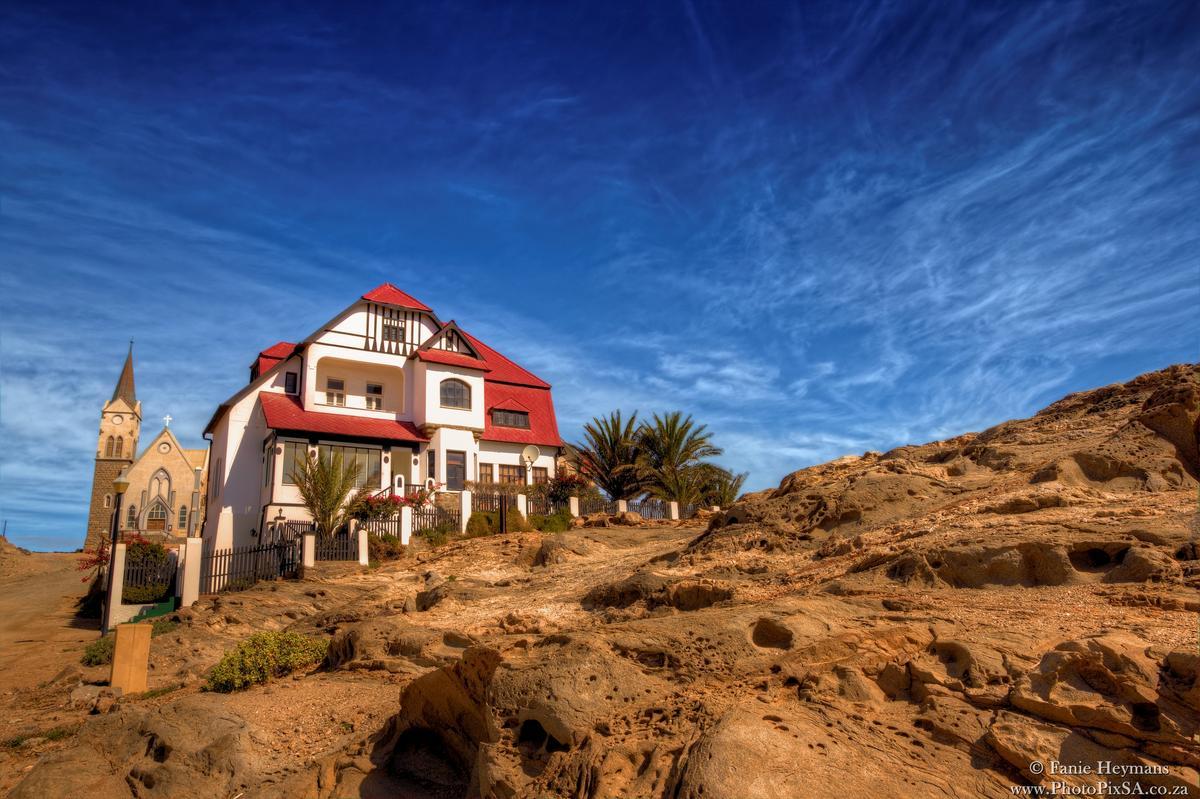 Goerke House Luderitz Namibia