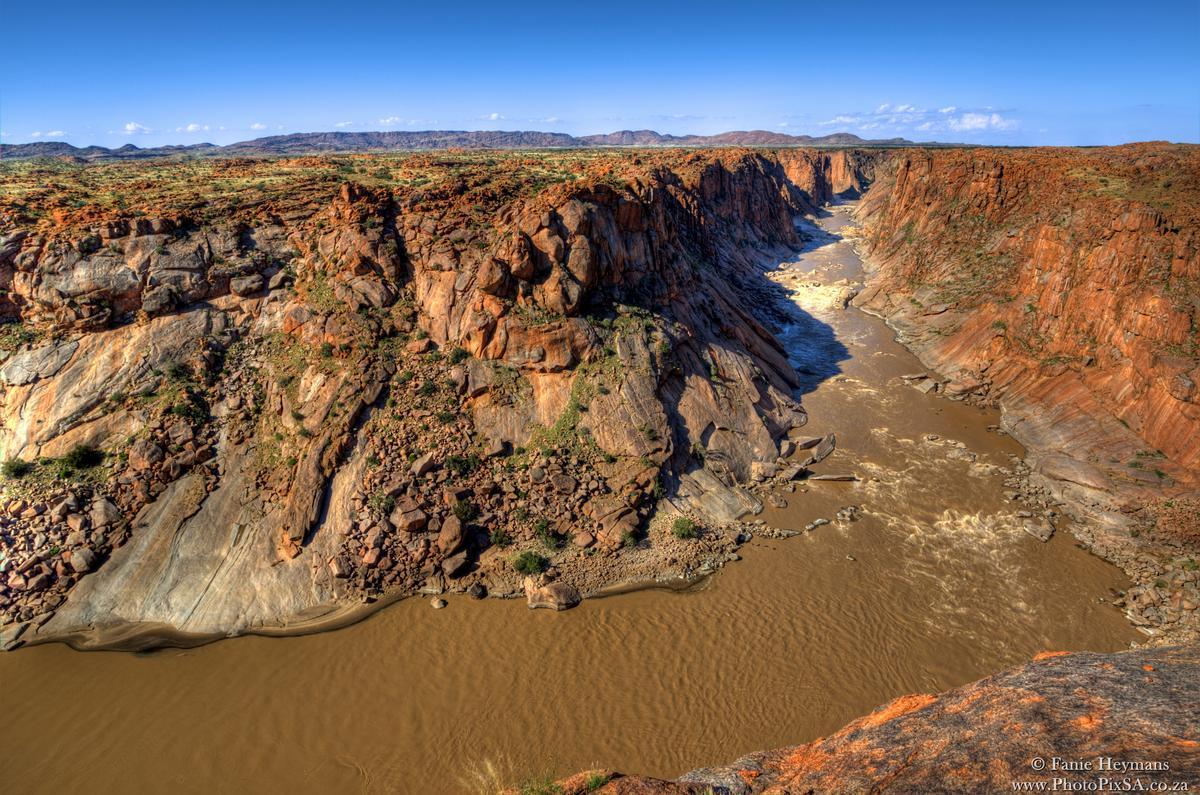 Orange river Augrabies National Park Northern Cape