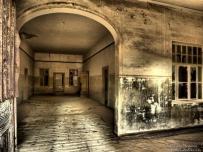 Kolmanskop Gost Town Spooky Hospital Entrance