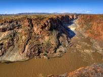 Orange river Augrabies National Park Northern Cape