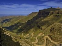 Sani Pass 4X4 trail at Drakensberg South Africa