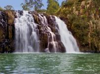 Waterfall near Sanis Pass in Drakensberg